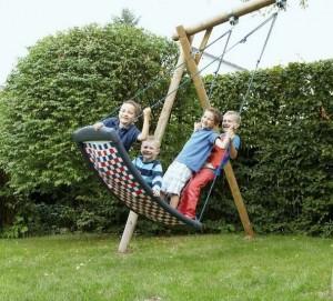 Multi kids schommel tuin